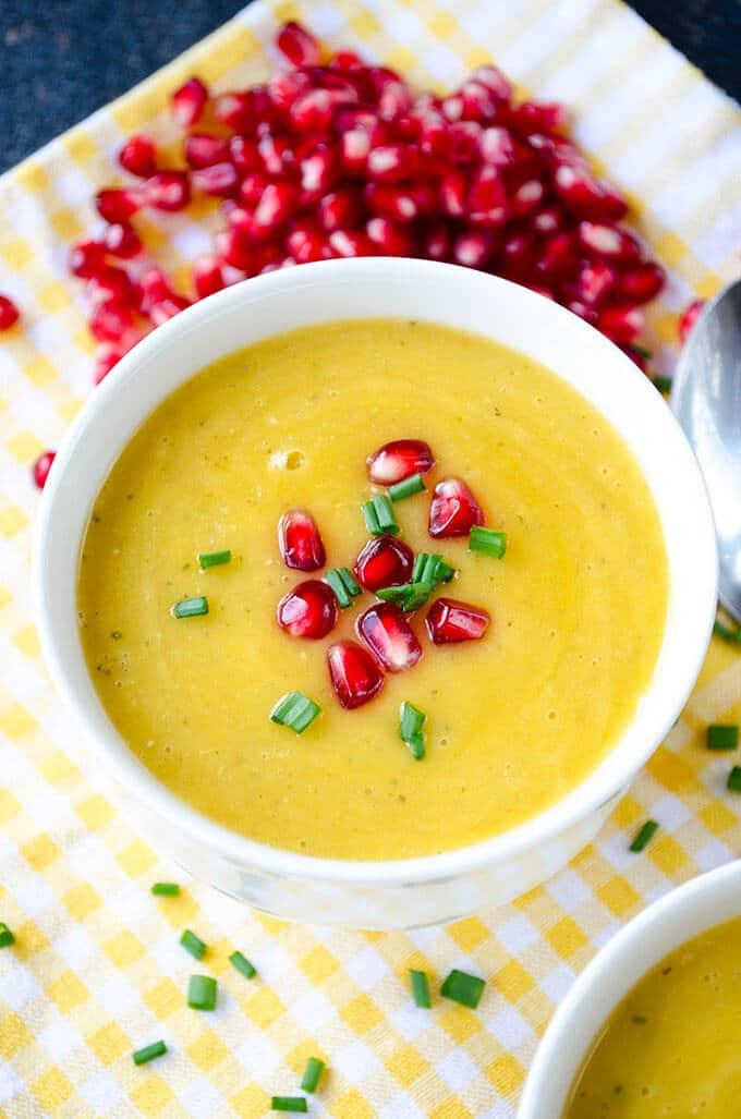 Pumpkin Lentil Soup | giverecipe.com | #pumpkinsoup