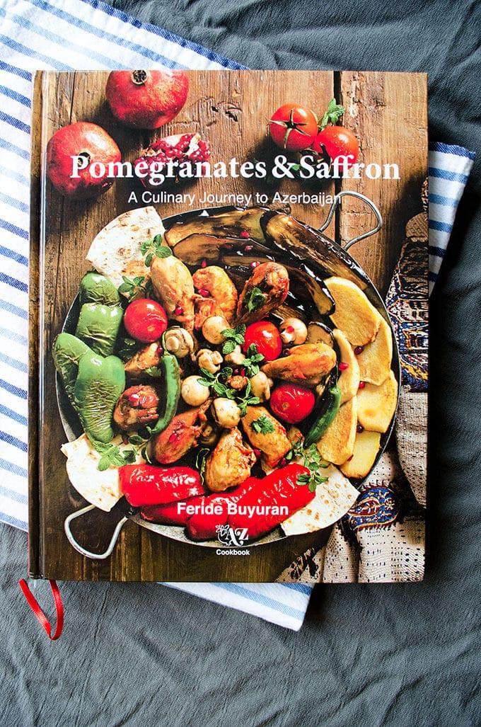 Pomegranate with Eggs | giverecipe.com | #pomegranates #eggs