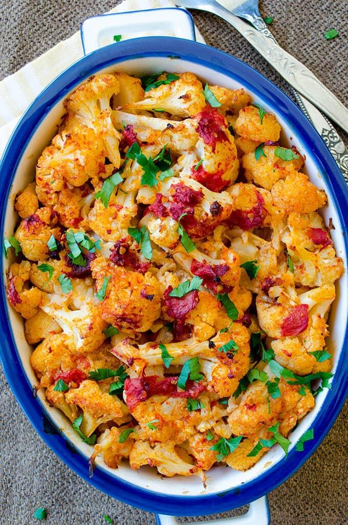 Vegan Cauliflower Casserole | giverecipe.com | #cauliflower #casserole #vegan
