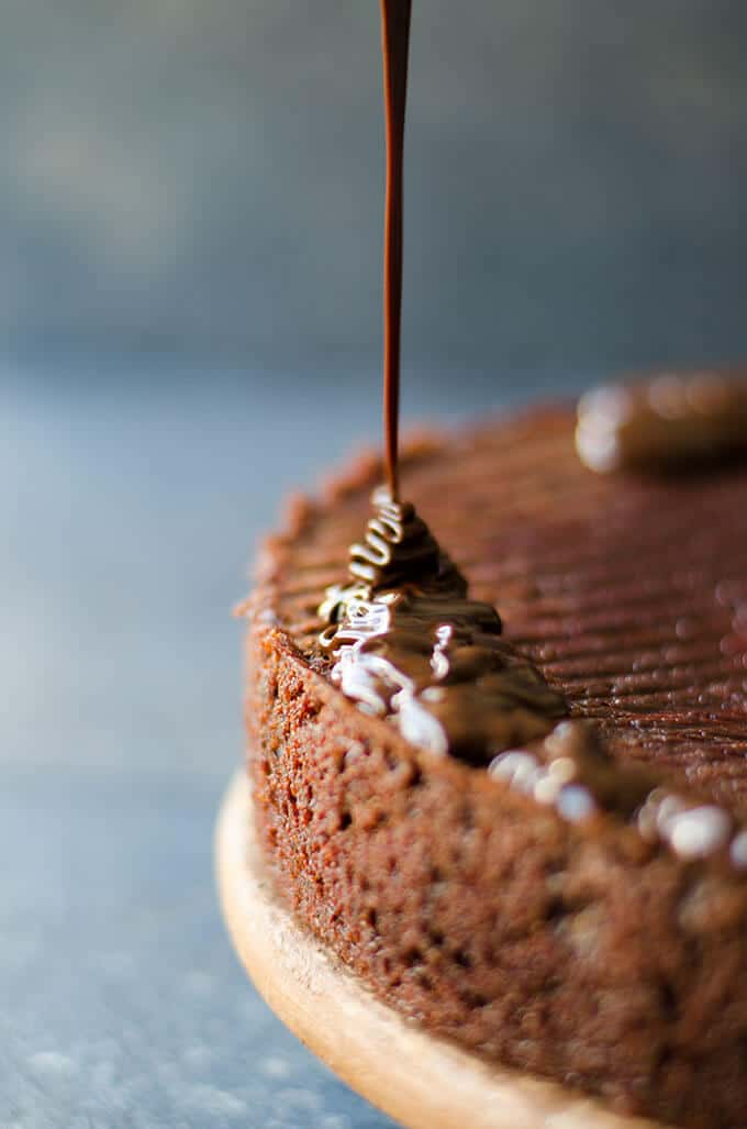 Double Chocolate Beet Cake | giverecipe.com | #chocolatecake #beet