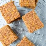 Honey Carrot Cake Bars