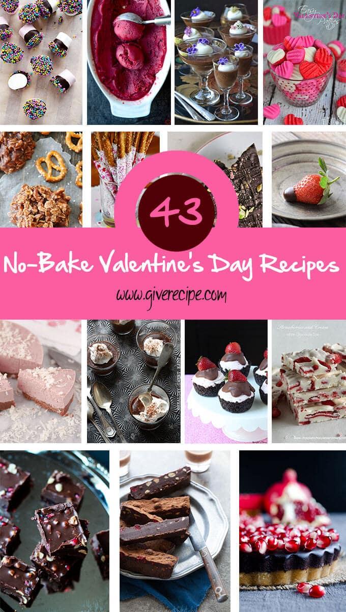 43 No-Bake Valentine's Day Recipes