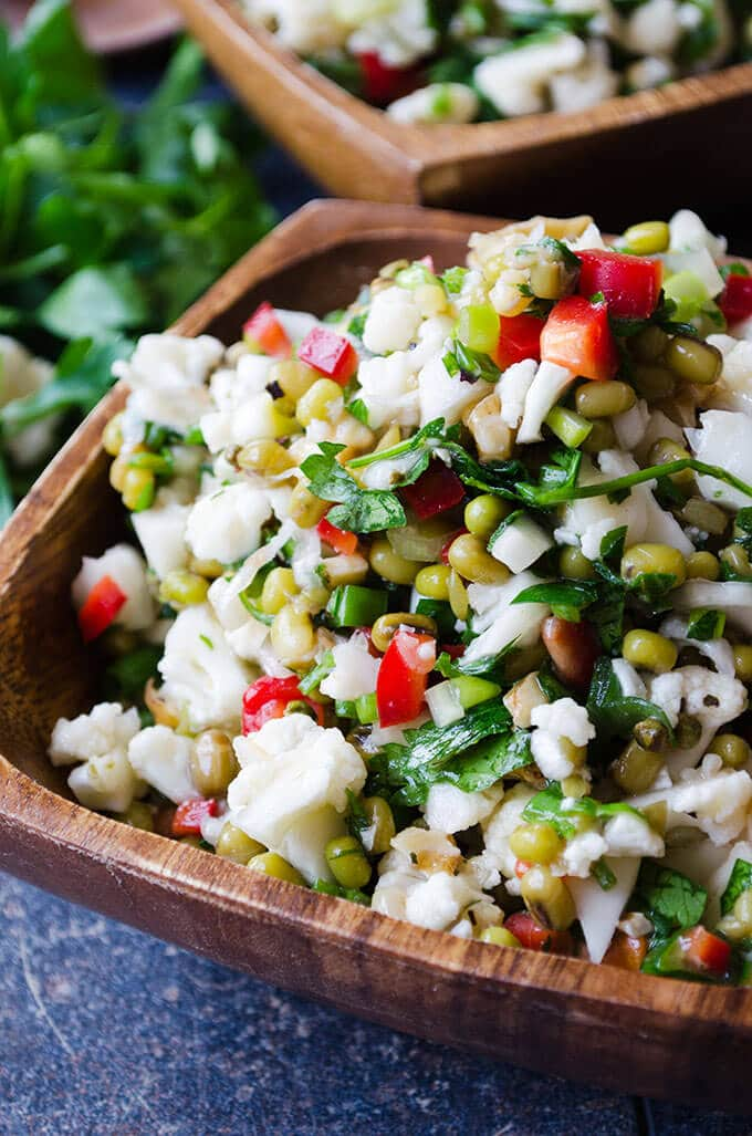 holiday detox salads | giverecipe.com | #detox #salad