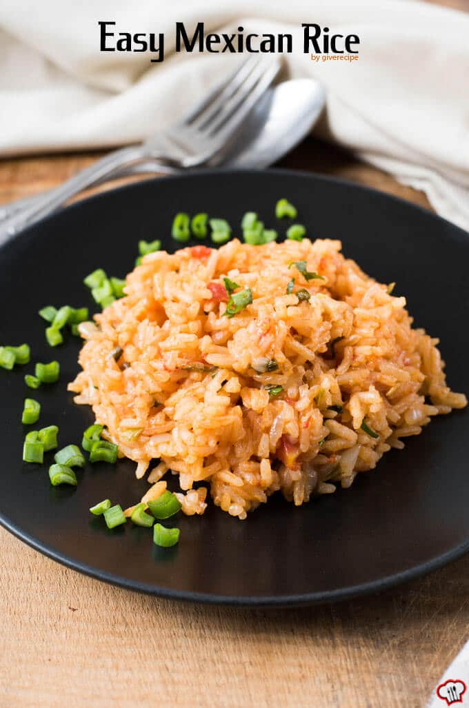Easy Mexican Rice |giverecipe.com | #mexican #rice