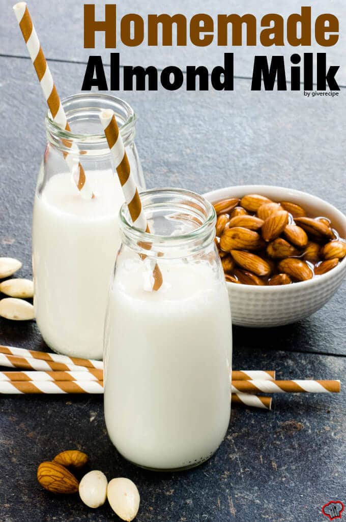 Image result for Images of Fresh ALmond Milk