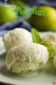 Tangy Lime Ice Cream