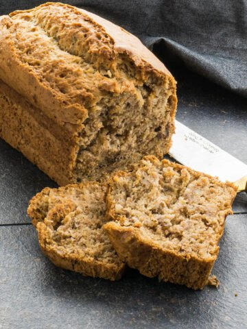 Vegan Banana Bread | giverecipe.com |#vegan #bananabread