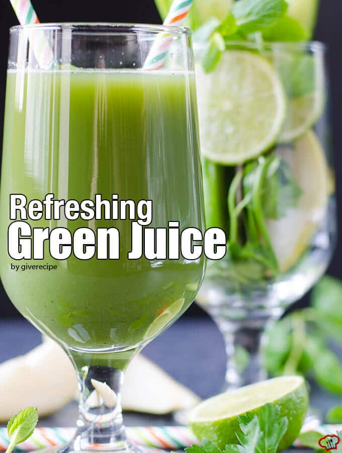 how to make green juice at home