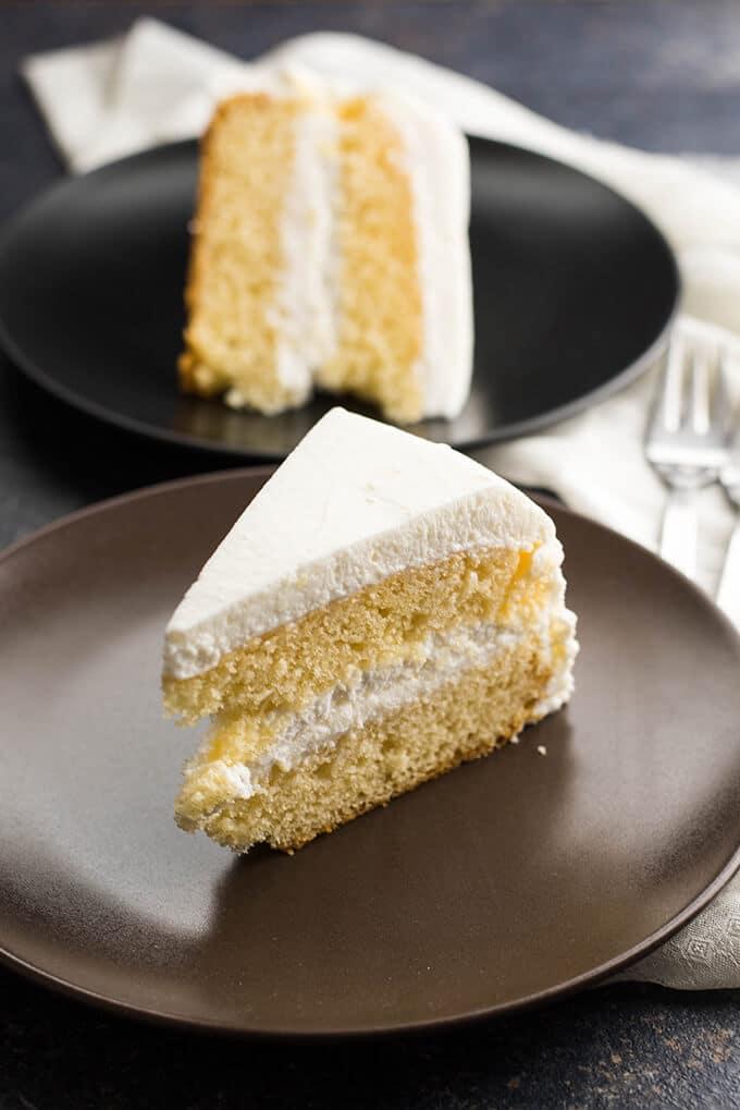 Simple Vanilla Cake 3
