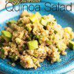 Tangy Avocado Quinoa Salad