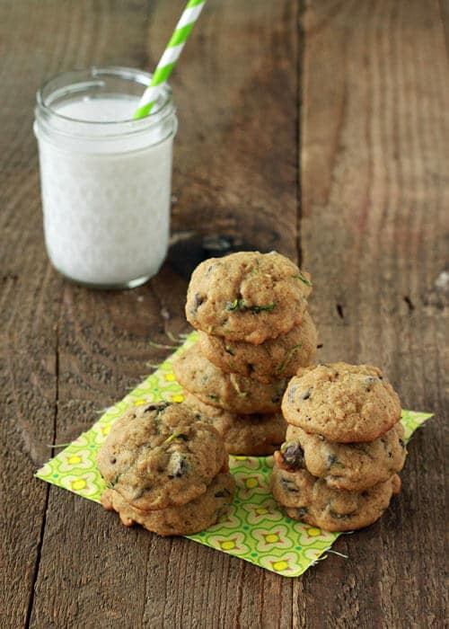Chocolate-Chip-Cookies-with-Zucchini