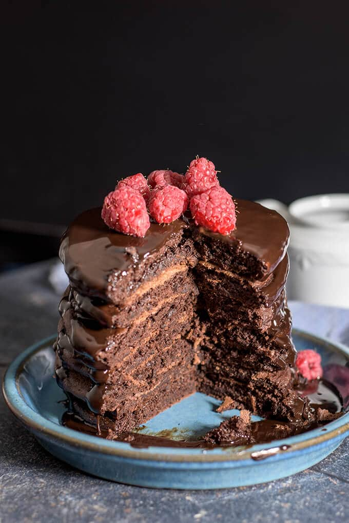Double Chocolate Pancakes Give Recipe