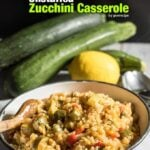 You will never bother stuffing zucchini again once you try this Unstuffed Zucchini Casserole. Same taste with same ingredients yet with less work and shorter time! This is our kid's all time favorite meal. – giverecipe.com