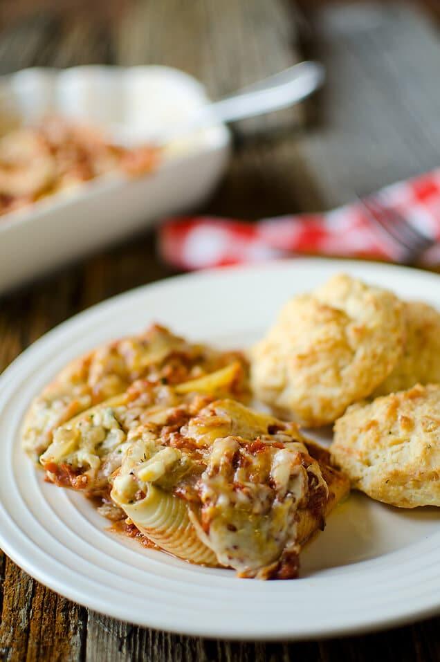 Vegetable-Three-Cheese-Stuffed-Shells
