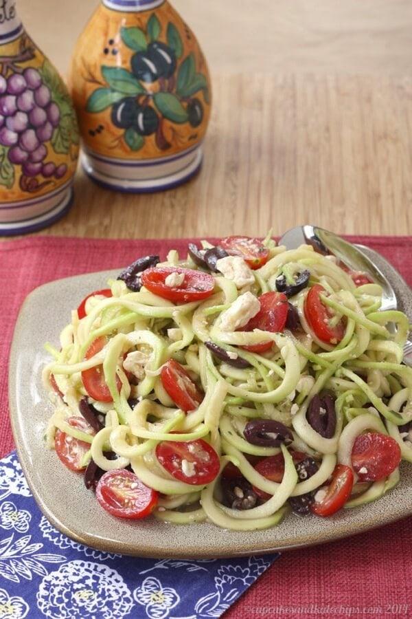 Zucchini-Noodles-Zoodles-Greek-Salad
