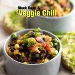 Black Bean and Veggie Chili