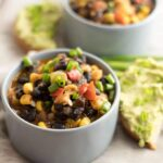 Black Bean and Veggie Chili. Healthy, hearty and very easy. Ready in 30 minutes!- giverecipe.com