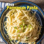 The easiest pasta recipe with 3 ingredients. Pasta, parmesan and butter. Ready in 15 minutes, gone in seconds! - giverecipe.com