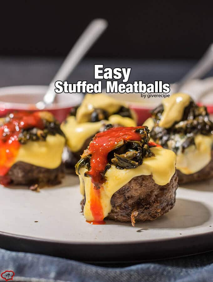 Easy Stuffed Meatballs