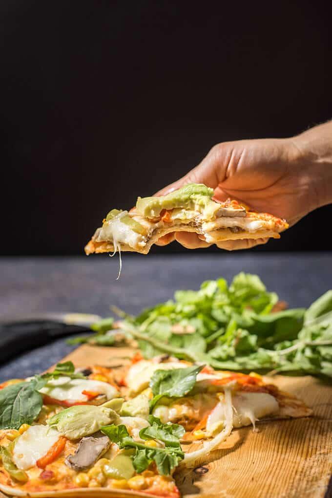 mexican tortilla pizza give recipe. Black Bedroom Furniture Sets. Home Design Ideas
