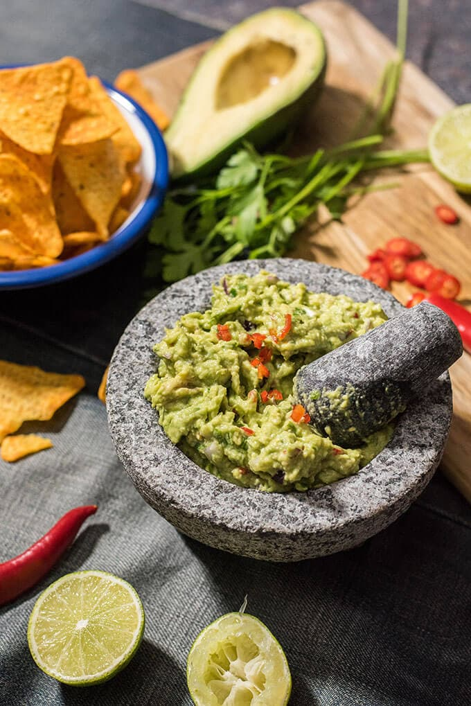 How to make guacamole spicy in a guac bowl