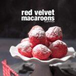 Red Velvet Macaroons