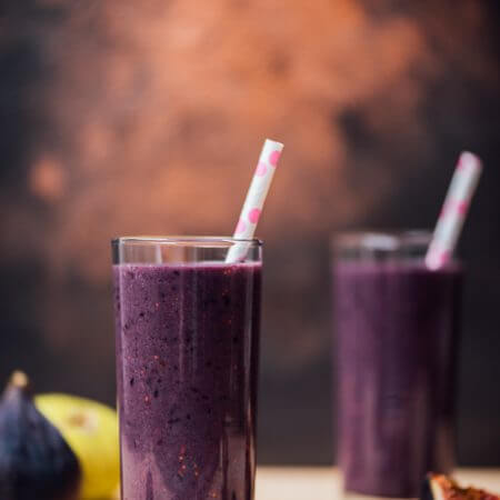 Blackberry Fig Kefir Smoothie is the best way of including kefir in your diet. Kids will fall in love with the taste and color. They will definitely ask for more.