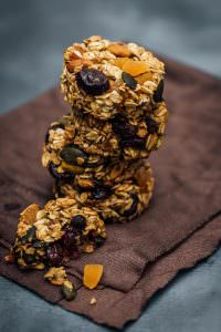 Skinny Pumpkin Breakfast Cookies