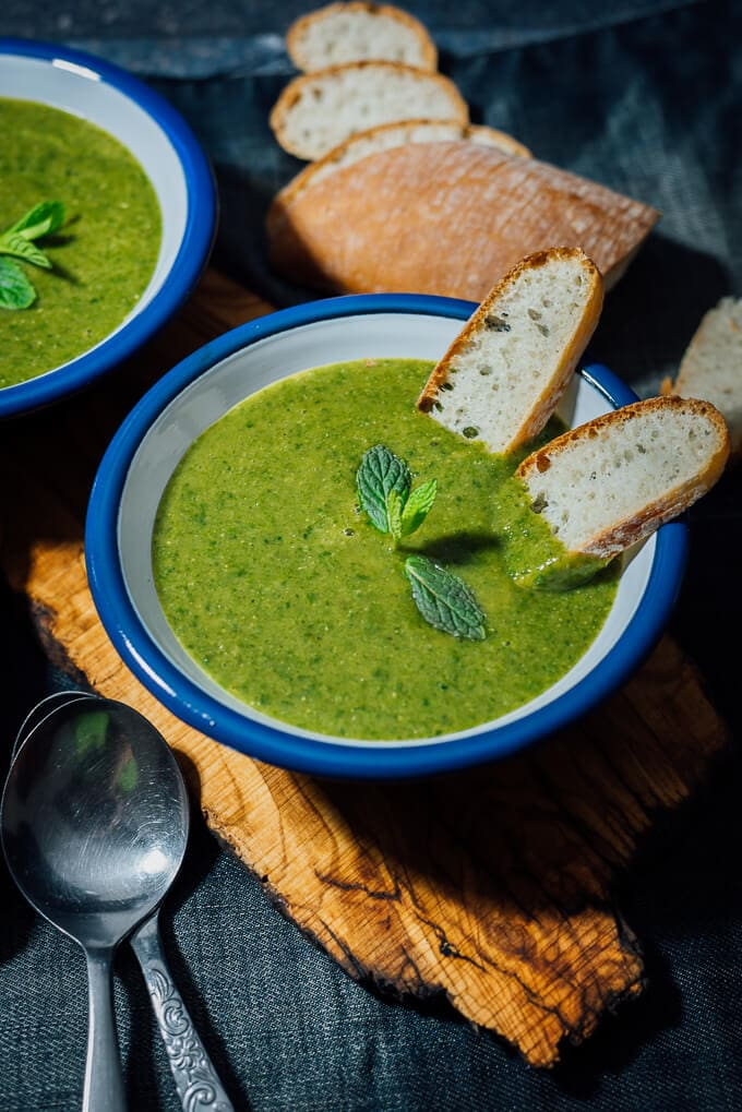 Vegan Red Lentil Spinach Soup is a hearty and comforting soup that has been a staple in my home for years. Super creamy without anything dairy and amazingly flavoursome.