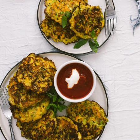 Leek Fritters with Carrot and Turmeric are one of the best winter appetizers I've created so far. This is a game changer recipe that can make anyone LOVE leeks.
