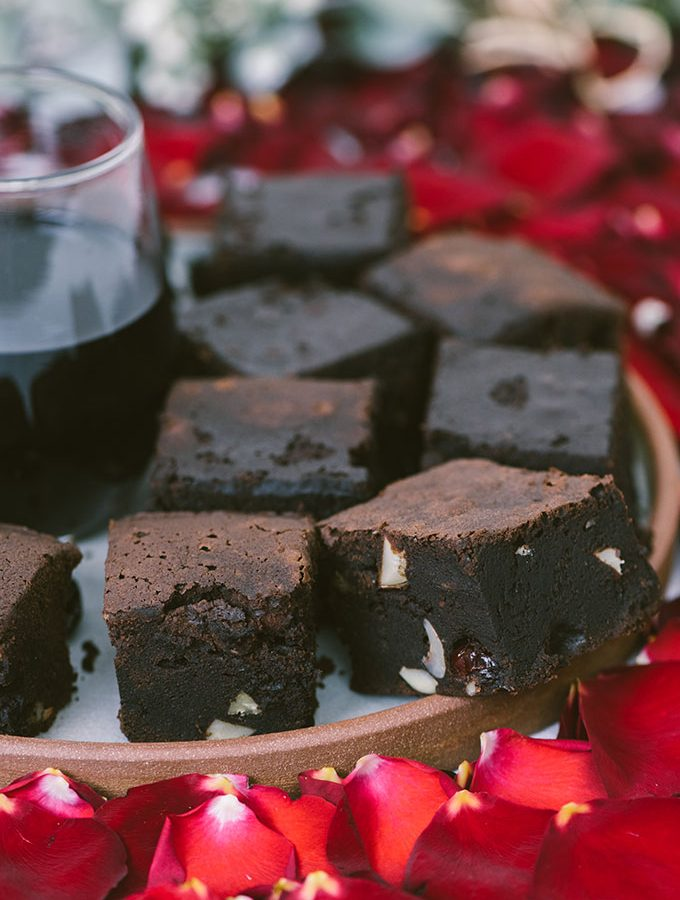 Red Wine Chocolate Brownies are the best fudgy brownies I've made with a surprising flavor. Taste Buds satisfaction guaranteed!