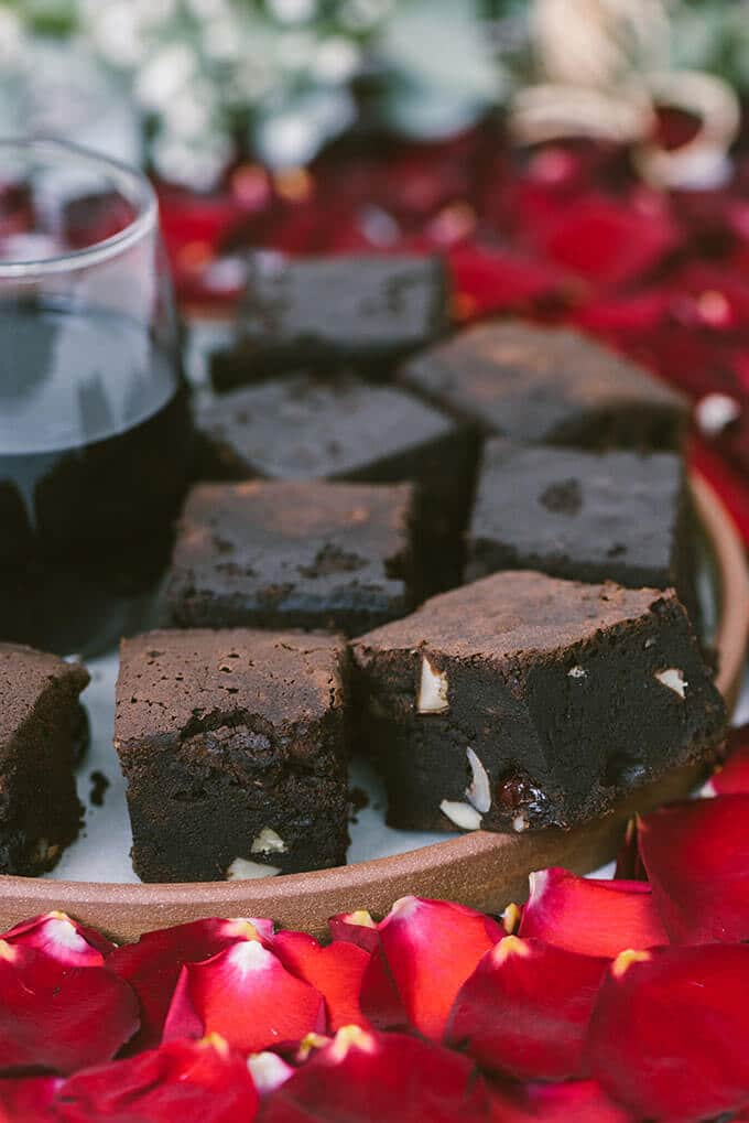 Red Wine Chocolate Brownies are the best fudgy brownies I've made ...
