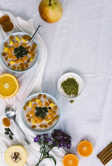 Warm Bulgur Breakfast Bowls