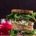 Feta Cheese Sandwich with Herbs
