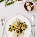 Healthy Baked Tilapia with Black Bean Salsa
