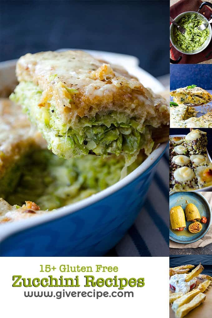 15+ Gluten Free Zucchini Recipes