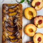 Peach Bread with Walnuts