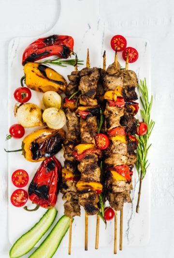 Lamb Shish Kabob Recipe with Yogurt Marinade