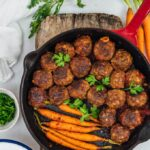 Gluten-Free Honey Garlic Meatballs