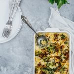 Broccoli Cauliflower Casserole makes a wonderful side dish for occasions like Thanksgiving.