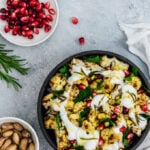 Roasted Curried Cauliflower Salad