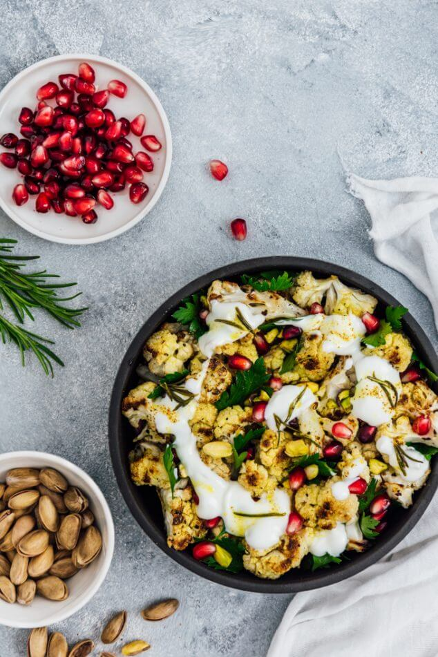 This roasted curried cauliflower salad will change your feelings about veggies!