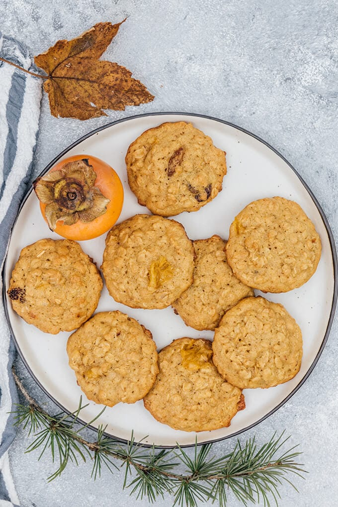 Persimmon cookies have the best fall flavors. Make them for your holiday celebrations!