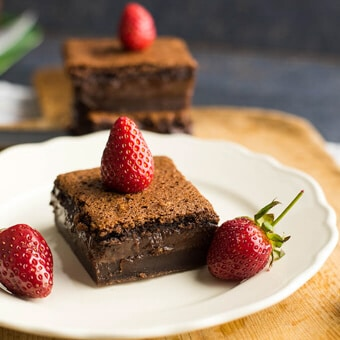 Magic custard cake (gluten-free)