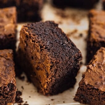 Double chocolate brownies (video)
