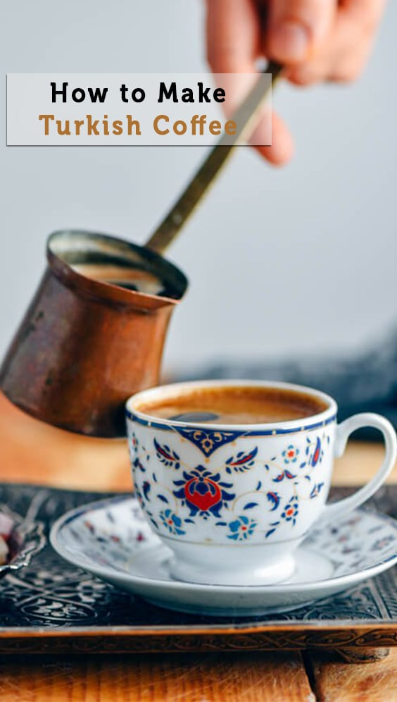 Would you like to learn How to Make Turkish Coffee? It's such a unique drink from its cooking method to the serving and drinking. You will love that smell spreading in your house when making this coffee.