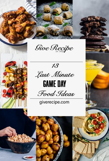 Game day food ideas image