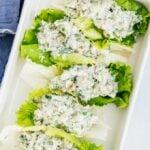 Low Carb Chicken Salad Lettuce Wraps
