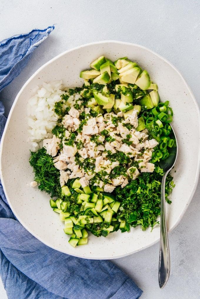 Avocado Chicken Salad No Mayo Give Recipe