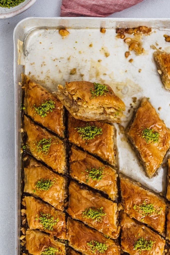 Easy Turkish Baklava Recipe Bakery Style Give Recipe